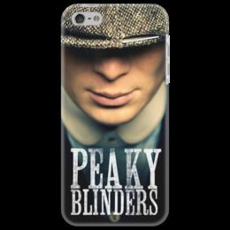 """Чехол для iPhone 5 """"Острые козырьки"""" - peaky blinders, киллиан мерфи, острые козырьки"""