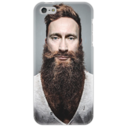 "Чехол для iPhone 5 ""Модный Путин"" - юмор, путин, борода, putin, владимир путин"