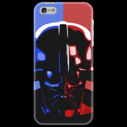 "Чехол для iPhone 5 ""Darth Vader"" - арт, рисунок, star wars, dark side, vader, darth vader, вейдер, starwars, звёздные войны"