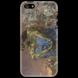 "Чехол для iPhone 5 ""Демон сидящий"" - картина, врубель"