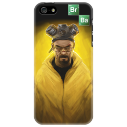 "Чехол для iPhone 5 ""Breaking Bad / Во Все Тяжкие"" - iphone, айфон, во все тяжкие, чехол, cover, breaking bad, walter white, heisenberg"