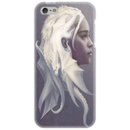 "Чехол для iPhone 5 ""Дейенерис Таргариен "" - игра престолов, сериал, таргариен, game of thrones, драконы"