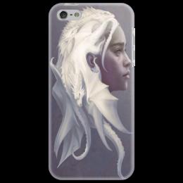"Чехол для iPhone 5 ""Дейенерис Таргариен "" - сериал, драконы, игра престолов, game of thrones, таргариен"