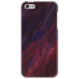 """Чехол для iPhone 5 """"Абстрактный дизайн"""" - графика, абстракция, линии, авангард, лучи"""