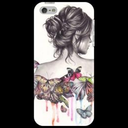 """Чехол для iPhone 5 """"девушка"""" - оригинально"""