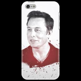 """Чехол для iPhone 5 """"Илон Маск"""" - маск, наука, космос"""