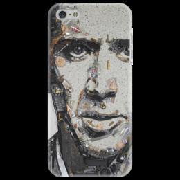"""Чехол для iPhone 5 """"Николас Кейдж"""" - арт, в подарок, оригинально, nicolas cage"""
