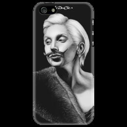 "Чехол для iPhone 5 ""Lady Gaga"" - арт, девушка, рисунок, креативно, lady gaga, artpop, gypsy"