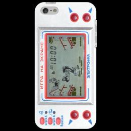 """Чехол для iPhone 5 """"электроника"""" - прикольно, прикол, арт, смешные, приколы, популярные, прикольные, в подарок, оригинально, девушке"""
