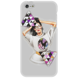 "Чехол для iPhone 5 ""Rihanna"" - любовь, арт, music, девушка, new, рисунок, draw, rihanna, рианна, riri"