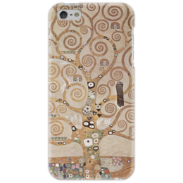 "Чехол для iPhone 5 ""Древо жизни"" - картина, климт"