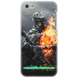 "Чехол для iPhone 5 ""Call of Duty Modern Wafare 2 zombie"" - zombie, зомби, games, call of duty, modern warfare, action"