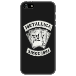 "Чехол для iPhone 5 ""«Metallica: Since 1981»"" - metal, metallica, металлика, metallica since 1981"