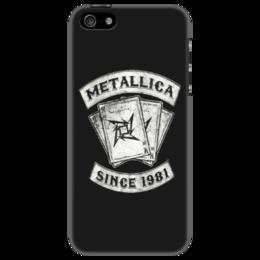 "Чехол для iPhone 5 ""«Metallica: Since 1981»"" - metal, metallica, металлика, metallica since 1981"