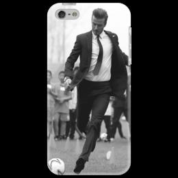 "Чехол для iPhone 5 ""Beckham style"" - футбол, football, футболист, uk, david beckham, дэвид бекхэм, bend it like beckham"