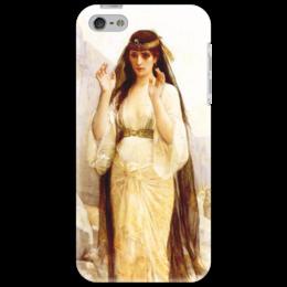 """Чехол для iPhone 5 """"Дочь Иеффая (картина Кабанеля)"""" - картина, кабанель"""