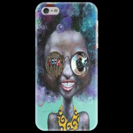 """Чехол для iPhone 5 """"девушка арт"""" - арт, стиль, девушка"""