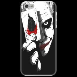 "Чехол для iPhone 5 ""Joker Black Knight"" - batman, dark knight, джокер"