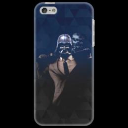 """Чехол для iPhone 5 """"Dart Weider (Дарт Вейдер)"""" - череп, darth vader, звездные войны, дарт вейдер, рыцарь-джедай"""