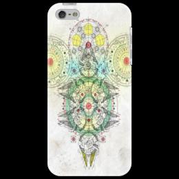 """Чехол для iPhone 5 """"Mechanics"""" - арт, айфон, оригинально, иллюстрация, стим-панк, механика, дизай"""