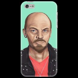"""Чехол для iPhone 5 """"Ленин"""" - ссср, рисунок, ленин, хипстер"""