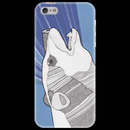 "Чехол для iPhone 5 ""Polar Bear"" - арт, медведь, в подарок, чехол"