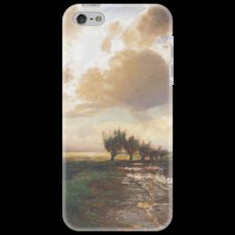 """Чехол для iPhone 5 """"Просёлок"""" - картина, саврасов"""
