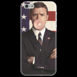 """Чехол для iPhone 5 """"The Classy Case #6"""" - арт, прикольные, в подарок, оригинально"""