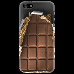 "Чехол для iPhone 5 ""Шоколад "" - шоколад, chocolate"