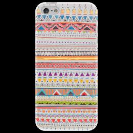 """Чехол для iPhone 5 """"Этнический орнамент"""" - узор, орнамент, этно"""