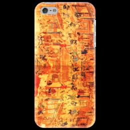 """Чехол для iPhone 5 """"Шаолинь"""" - единоборства, кунг фу, ушу, китайские, восточные"""