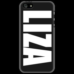 """Чехол для iPhone 5 """"с именем Лиза"""" - лиза, чехол с именем, чехол с именем лиза"""