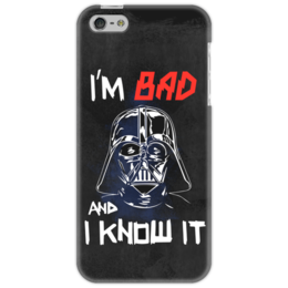 "Чехол для iPhone 5 ""I'm Bad and I know it (starwars)"" - darth vader, звездные войны, starwars, звездный путь, дарт вейдер"
