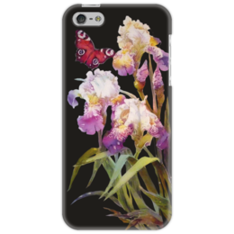 "Чехол для iPhone 5 ""Ирисы."" - цветы, ирисы, irises, iris flowers"