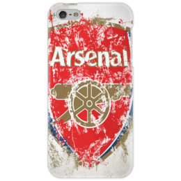 "Чехол для iPhone 5 ""arsenal"" - клуб, лондон, эмблема, арсенал"