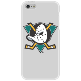 "Чехол для iPhone 5 ""Anaheim Mighty Ducks"" - хоккей, hockey, california, спортивная, nhl, нхл, anaheim ducks"