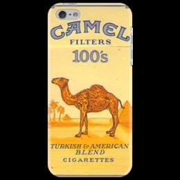 "Чехол для iPhone 5 ""Пачка CAMEL 100's"" - ретро, винтаж, бренд, camel, пачка сигарет, cigarettes"