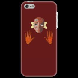 """Чехол для iPhone 5 """"Жизнь и смерть"""" - арт, коллаж, психоделия"""