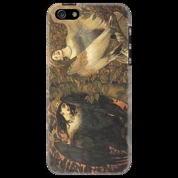 """Чехол для iPhone 5 """"Сирин и Алконост. Птицы радости и печали"""" - картина, васнецов"""