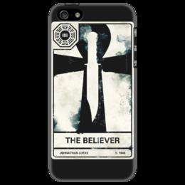 """Чехол для iPhone 5 """"LOST Taro 2"""" - mystery, adventure, остаться в живых, телесериал"""