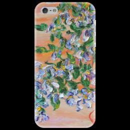 "Чехол для iPhone 5 ""Лепестки"" - красиво, весна, подарок, цветочки, лепестки"