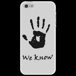 """Чехол для iPhone 5 """"Темное братство"""" - skyrim, игра, скайрим, братство, tes"""