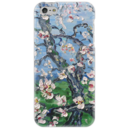 "Чехол для iPhone 5 ""Сакура"" - красота, дерево, цветочки, сакура, ветка"