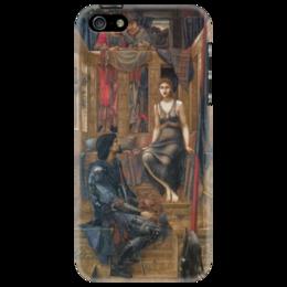 """Чехол для iPhone 5 """"Король Кофетуа и нищенка"""" - картина, бёрн-джонс"""