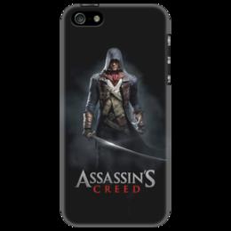 """Чехол для iPhone 5 """"Assassins Creed (Unity Arno)"""" - игра, assassins creed, воин, unity arno, арно"""