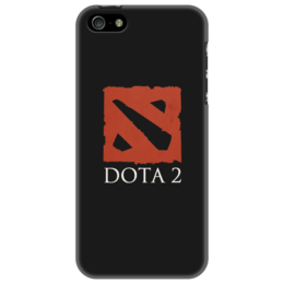 """Чехол для iPhone 5 """"DotA 2"""" - игра, valve, оригинальный, стильный, классный, dota, дота, dota2, dotka, дотка"""