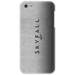 "Чехол для iPhone 5 ""SKYFALL "" - арт, 007, bond, james bond"