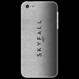 """Чехол для iPhone 5 """"SKYFALL """" - арт, 007, bond, james bond"""