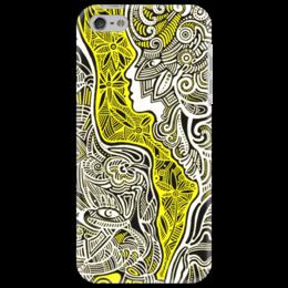 """Чехол для iPhone 5 """"""""Чувства и разум"""""""" - арт, стиль, рисунок, в подарок, парню, креативно"""