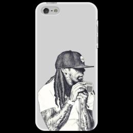 "Чехол для iPhone 5 ""Lil Wayne "" - lil wayne, hip hop, rnb, хип-хоп, wayne, лил уэйн, лил"